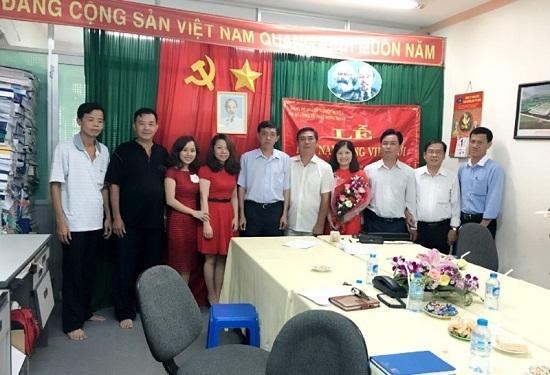 Lễ kết nạp đảng viên mới