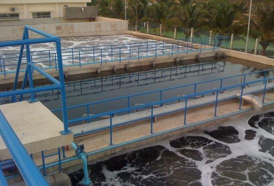 Nhà máy xử lý nước thải Khu Công nghiệp Mỹ Tho