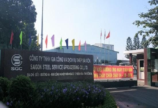 Công ty TNHH Gia công và Dịch vụ thép Sài Gòn