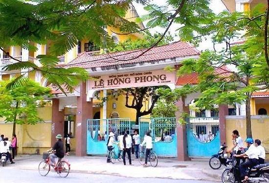 Cải tạo nâng cấp Trường THPT Chuyên Lê Hồng Phong