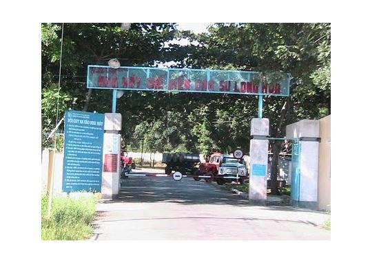 Nhà máy chế biến cao su Long Hòa